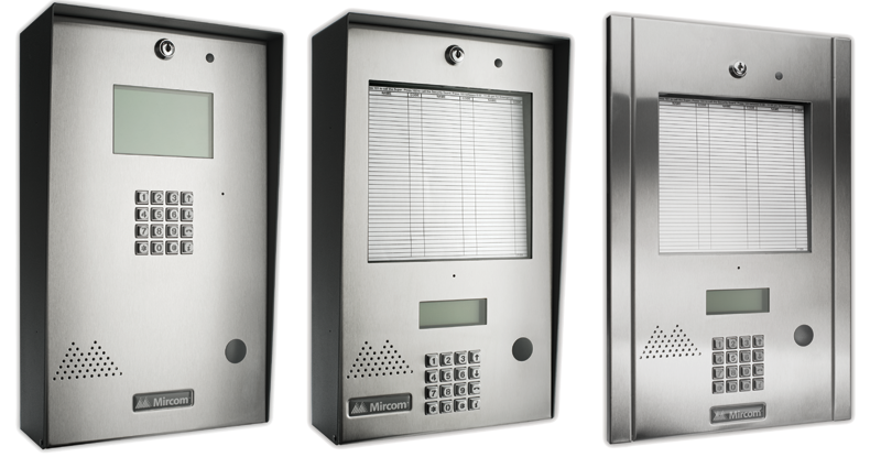apartment intercom systems
