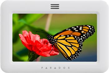 touchscreen alarm system keypad