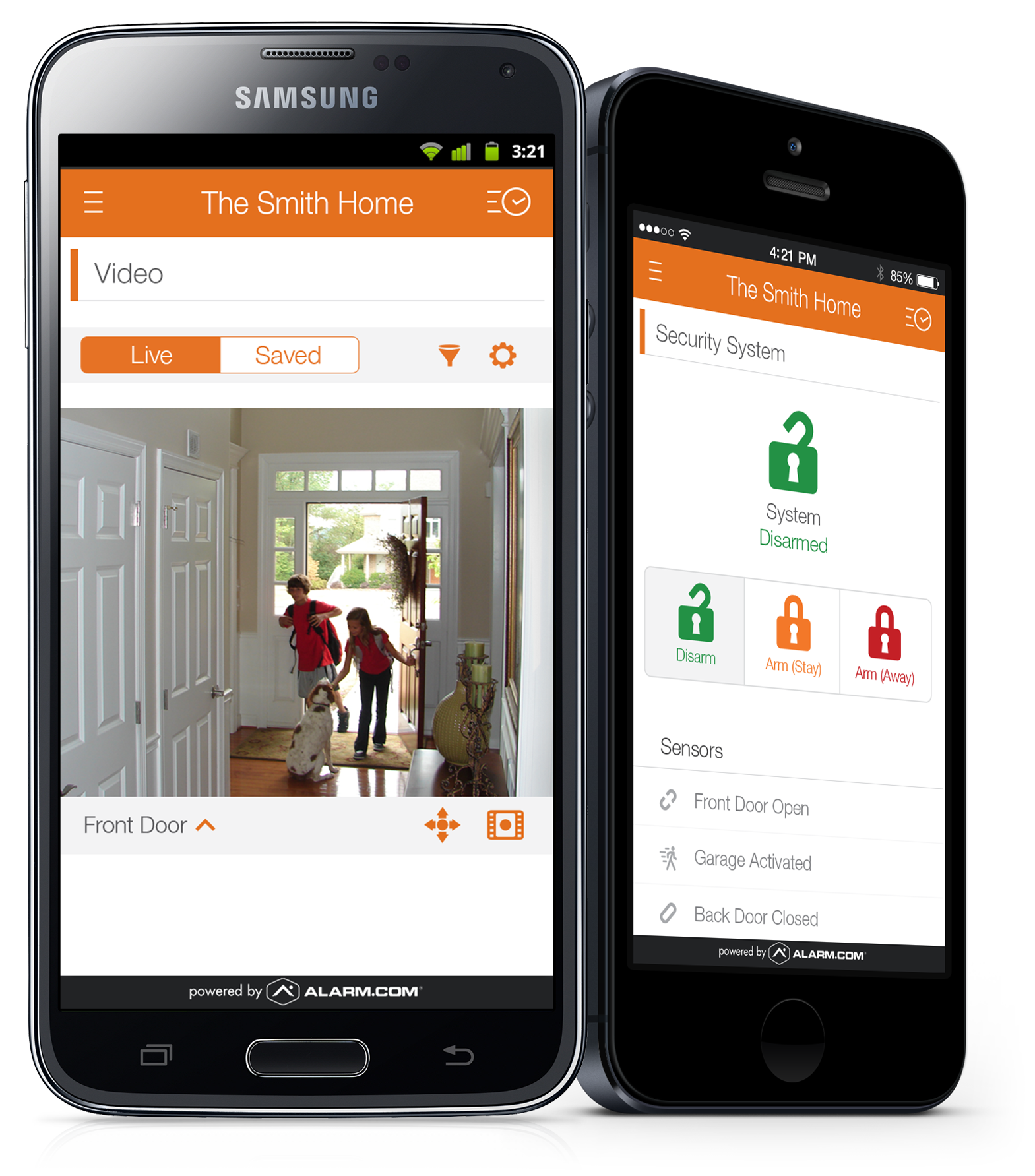 Smart Device Apps For Alarm System